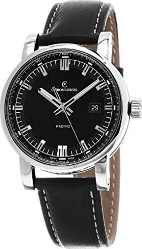 Chronoswiss Grand Pacific 43mm Mens Watch CH-2883B-BK1