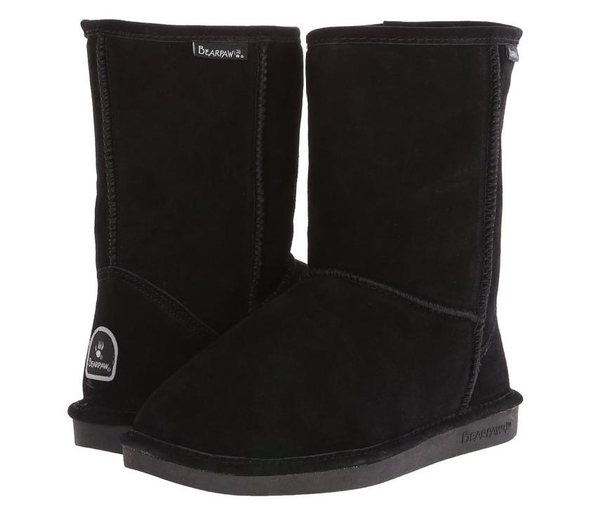 BEARPAW Women's Eva Short Cozy Snow Boot