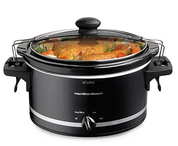 Hamilton Beach® Stay or Go 4-qt. Slow Cooker Product ID: 752485