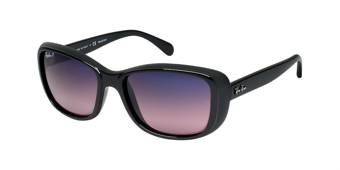 Ray-Ban RB4174 56 Blue & Black Polarized Sunglasses