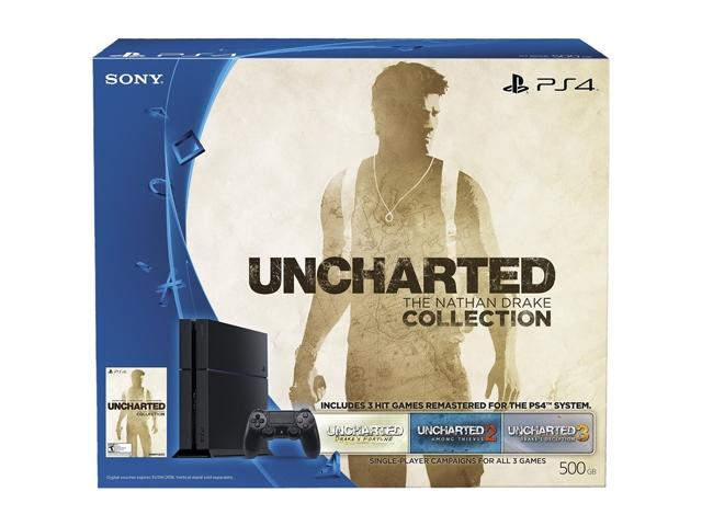 PlayStation 4 Console - Uncharted: The Nathan Drake Collection Bundle