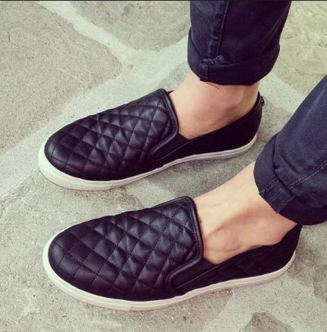 Madden Girl Plaaya Quilted Flatform Slip-On Sneakers @ Macy's