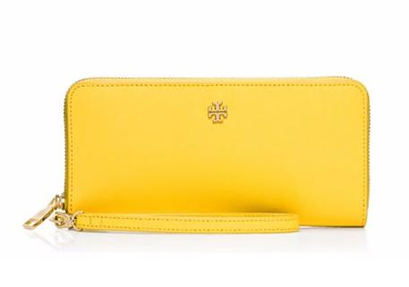 YORK ZIP PASSPORT CONTINENTAL WALLET @ Tory Burch