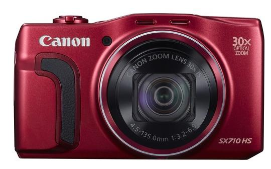 Canon - PowerShot SX710 HS 20.3-Megapixel Digital Camera Bundle