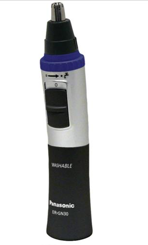 Panasonic Vortex Wet/Dry Nose and Facial Hair Trimmer ER-GN30-K