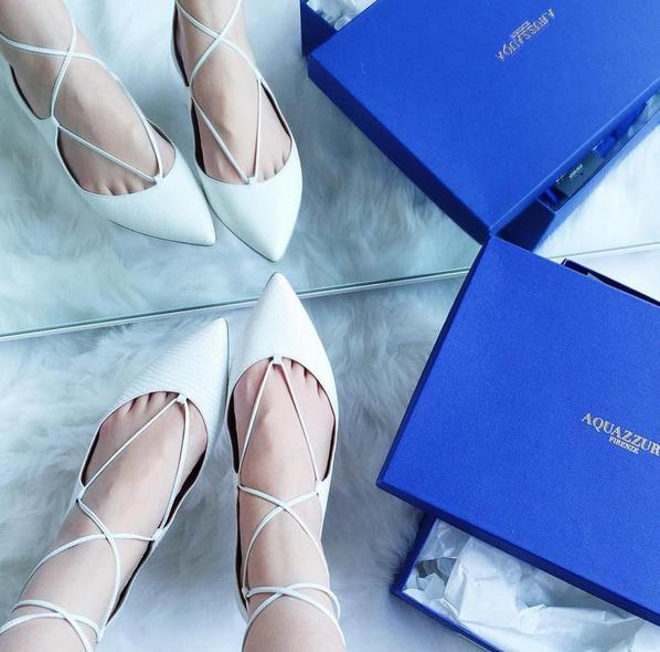 Up to $600 GIFT CARD with Aquazzura Shoes Purchase @ Neiman Marcus