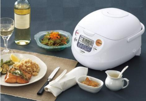 Prime Members only! Zojirushi NS-WAC10-WD 5.5-Cup (Uncooked) Micom Rice Cooker and Warmer