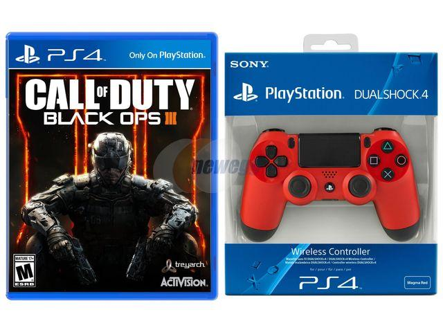 $129.99 Sony DualShock 4 Wireless Controller & Call of Duty: Black Ops III Bundle - PlayStation 4