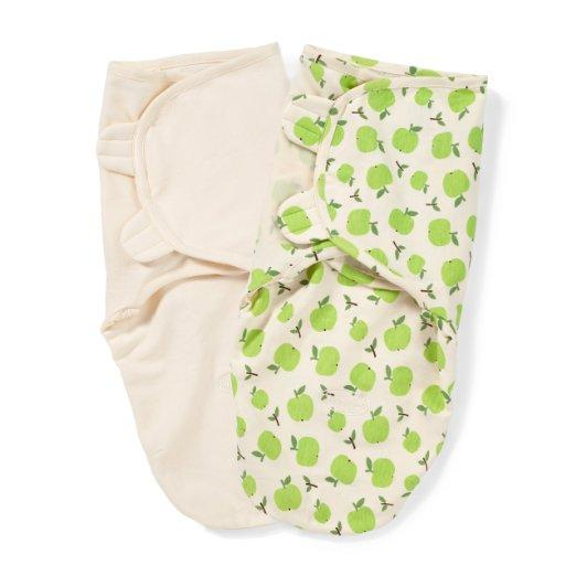 Summer Infant SwaddleMe Organic Adjustable Infant Wrap 2pcs