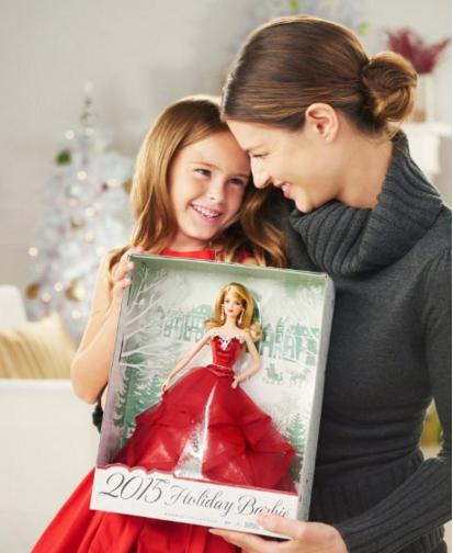 Lowest price! Barbie Collector 2015 Holiday Doll