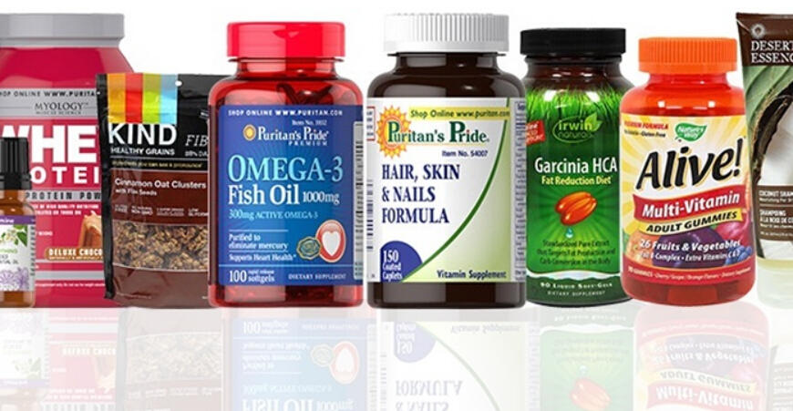 $20 for $40 Worth of Vitamins, Supplements, Healthy Snacks, Beauty, and Personal-Care Products at Puritan's Pride