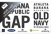 20% Off Gap/Banana Republic/Old Navy Gift Cards (Email Delivery) at Staples