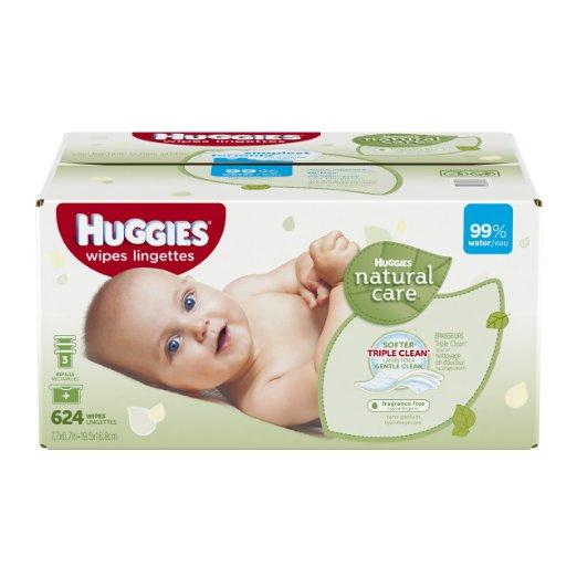 $4 Off + Extra 5% Off + Free Shipping Select Huggies Baby Wipes @ Amazon