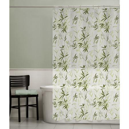 Maytex Zen Garden PEVA Shower Curtain