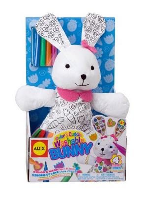 ALEX Toys Craft Color & Cuddle Bunny Soft Toy