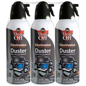 $6.38 Dust-Off Electronics Duster  10-Oz.压缩空气 (3瓶)