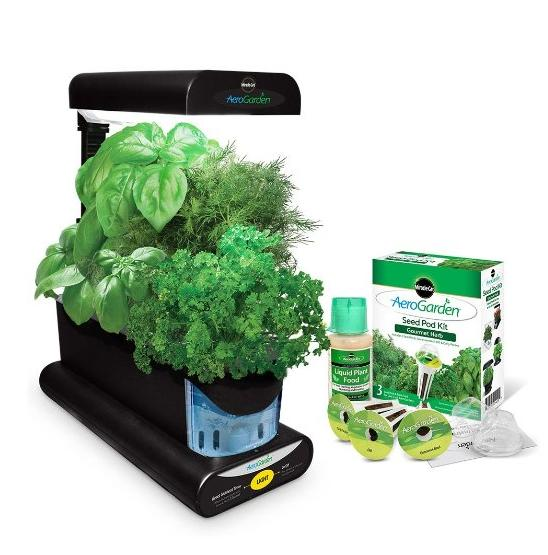 Miracle-Gro AeroGarden Sprout with Gourmet Herb Seed Pod Kit @ Amazon