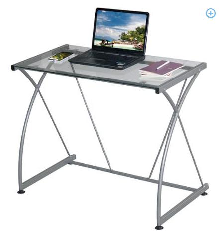 Techni Mobili Tempo Grey Desk