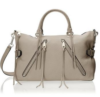 Rebecca Minkoff Large Moto Satchel Tote Shoulder Bag