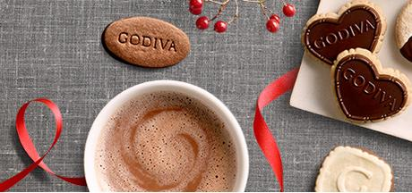15% Off With Over $65 Coffee, Biscuit and More Purchase @ Godiva