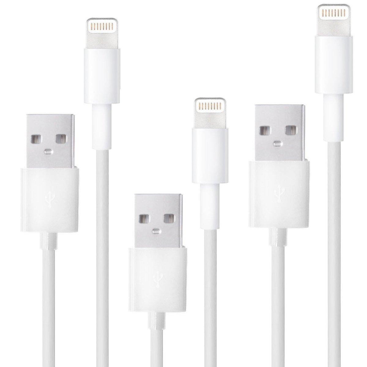 Apple MFI Certified Lightning Cable 3.3 ft (1 Meter)