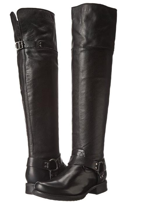 FRYE Women's Veronica Harness Over-The-Knee Boot(Black) On Sale @ Amazon.com