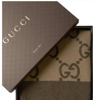 Extra 20% Off Gucci Luxury Throw Blanket 3 colors @ Gilt