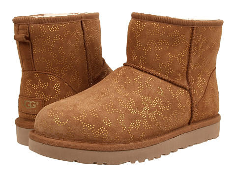 UGG Classic Mini Metallic Conifer Boot  @ Shoebuy.com