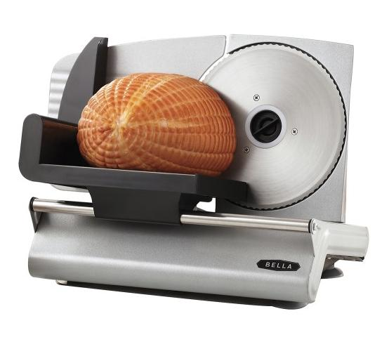 Bella - Electric Food Slicer - Stainless Steel