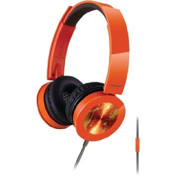 Panasonic Sound Rush Plus On-Ear Headphones RP-HXS400M-D