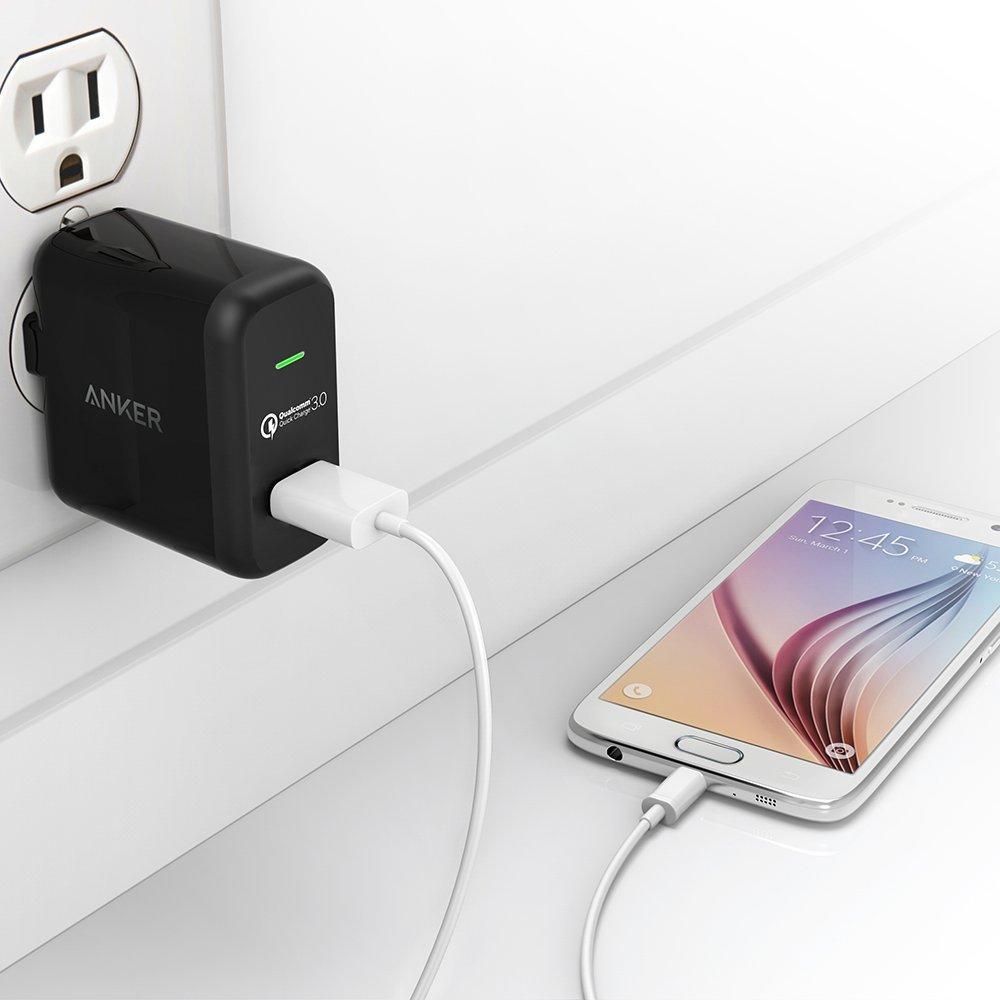 Anker PowerPort+ 1 Quick Charge 3.0 18W USB Wall Charger