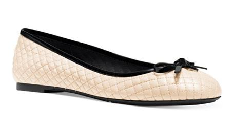 MICHAEL Michael Kors Melody Quilted Ballet Flats