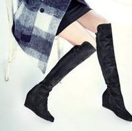 $349.99 Stuart Weitzman Over-The-Knee Wedge Boots