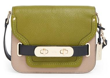 COACH 'Small Swagger' Leather Shoulder Bag @ Nordstrom