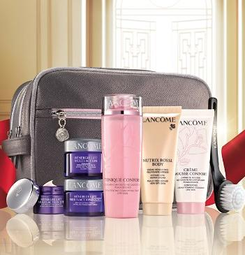 Skincare Set for $39.50($120 Value) With Any Lancôme Purchase @ Bloomingdales