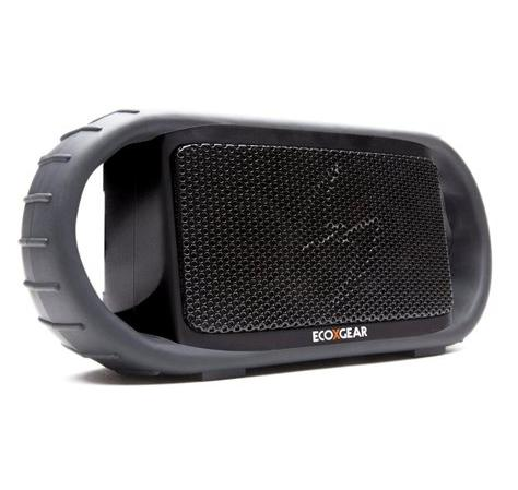 $19.99 Refurbished - ECOXGEAR ECOXBT Waterproof Bluetooth Wireless Rechargeable Speaker - Black - GDIEGBT501-R