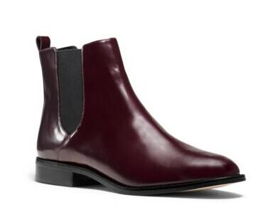 Thea Leather Ankle Boot @ MICHAEL MICHAEL KORS