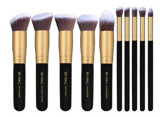 BS-MALL(TM) Premium Synthetic Kabuki Makeup Brush Set @ Amazon
