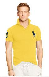 Up to 60% Off + Extra 15% Off Men's Polo Shirts Sale @ Ralph Lauren