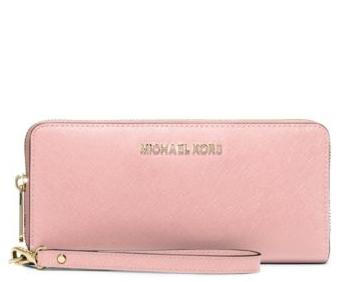 MICHAEL MICHAEL KORS  Jet Set Travel Leather Continental Wallet @ Michael Kors