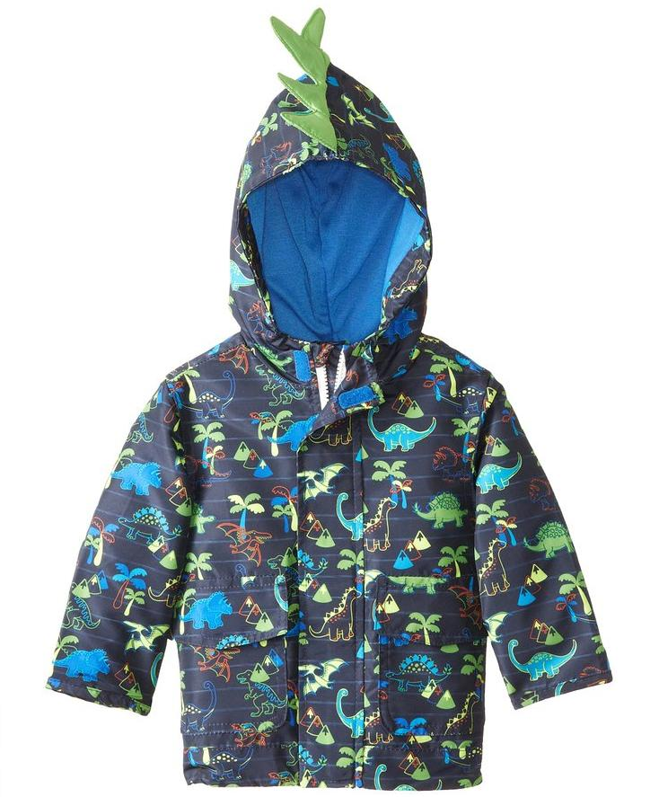 London Fog Baby Boys' Dino Printed Jacket