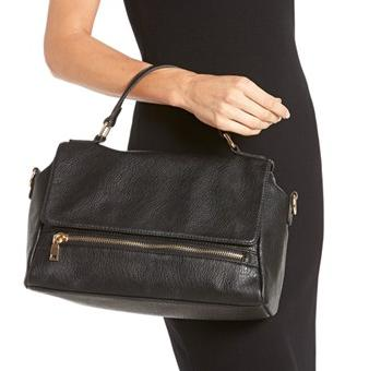 Street Level Convertible Faux Leather Satchel @ Nordstrom