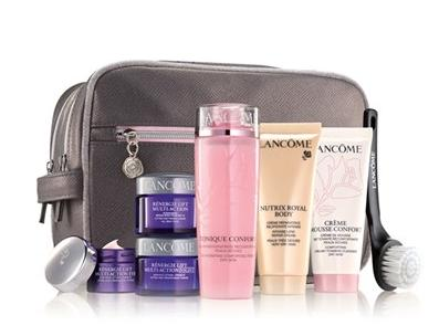 Skincare Set for $39.50($120 Value) With Any Lancôme Purchase @ Nordstrom