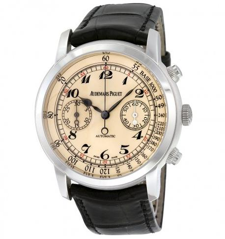 AUDEMARS PIGUET Jules Self Winding Chronograph White Gold Men's Watch