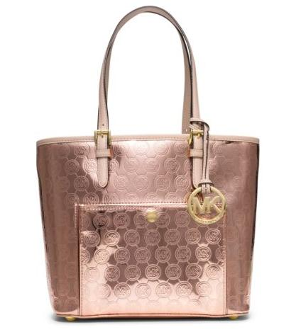 MICHAEL MICHAEL KORS  Jet Set Medium Monogram Tote