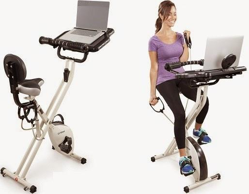 FitDesk 2.0 Lightweight Folding Pedal Desk