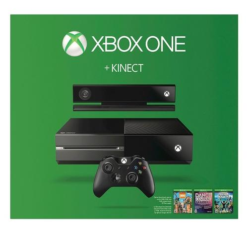 $399.00+ 2 free Game of your selection Xbox One 500GB Console with Kinect - 3 Game Bundle (Dance Central Spotlight + Kinect Sports Rivals + Zoo Tycoon)