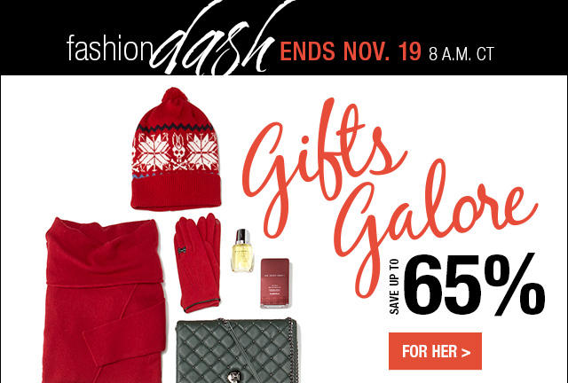 Up to 65% OFF Holiday Gifts Fashion Dash @ LastCall by Neiman Marcus