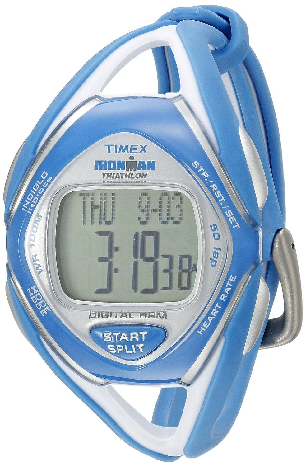 Timex Women's T5K569 Ironman Race Trainer Heart Rate Monitor Watch