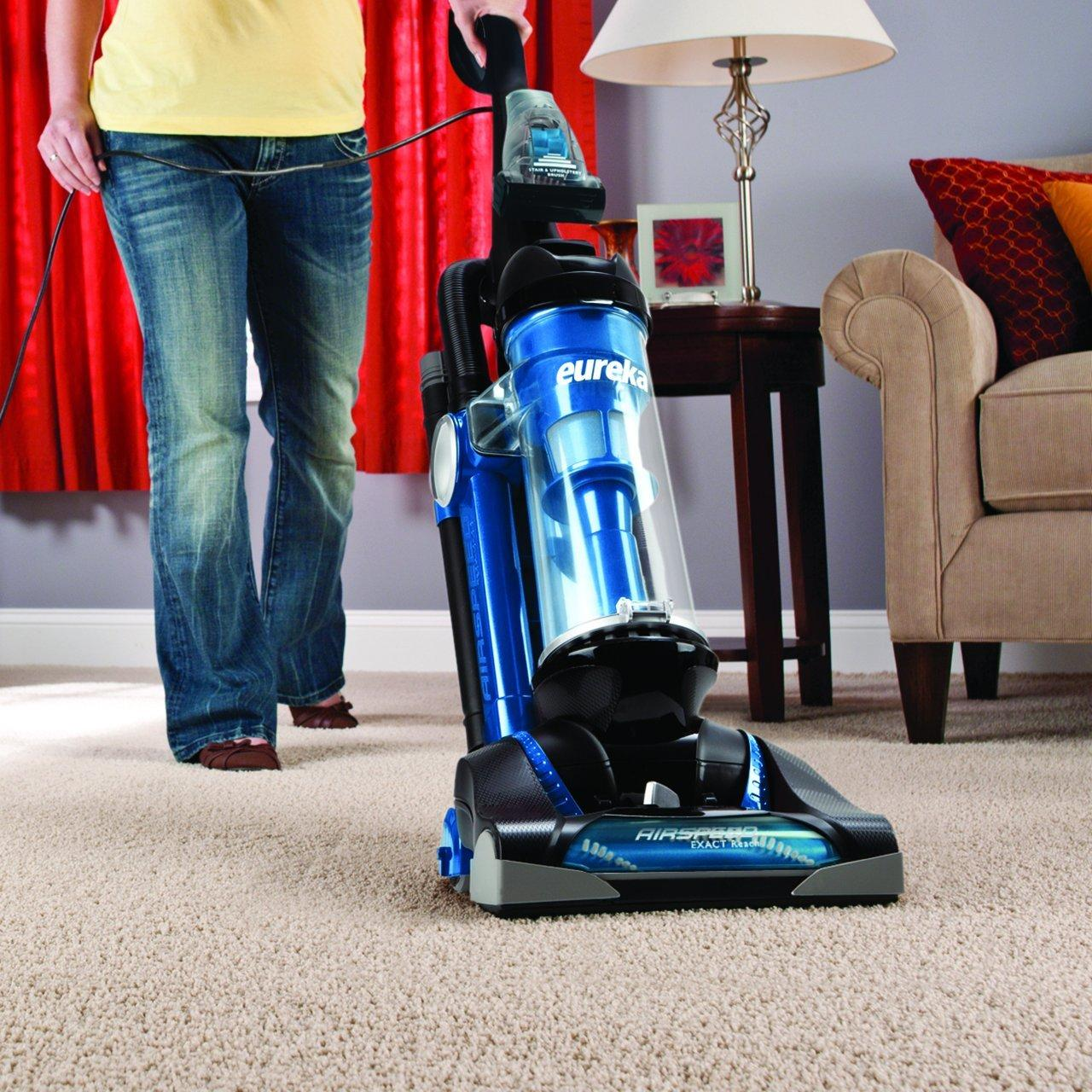 Eureka AS3008A Airspeed Exact Reach Bagless Upright Vacuum